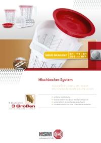 HSM Mischbecher-System