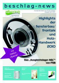 beschlag-news April 2010