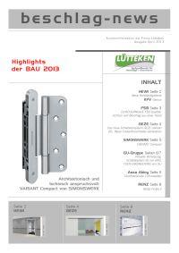 beschlag-news April 2013