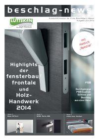 beschlag-news Juni 2014