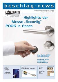 beschlag-news November 2006