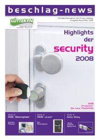 beschlag-news November 2008